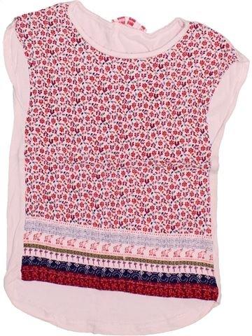 Camiseta sin mangas niña GEMO rosa 6 años verano #1499793_1