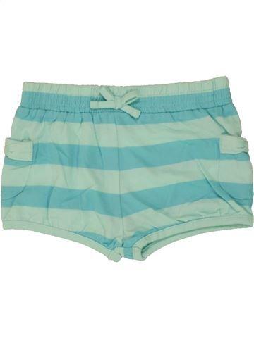 Short - Bermuda fille PRIMARK vert 18 mois été #1499825_1