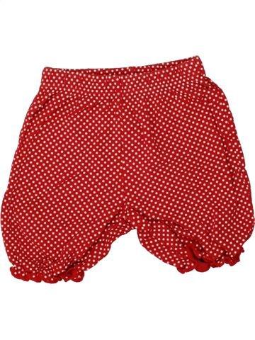 Short - Bermuda fille GEORGE rouge 18 mois été #1499845_1