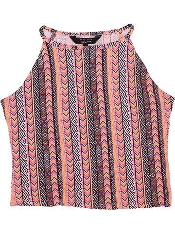 T-shirt sans manches fille NEW LOOK rose 15 ans été #1499866_1