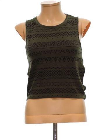Camiseta sin mangas mujer BERSHKA M invierno #1499874_1