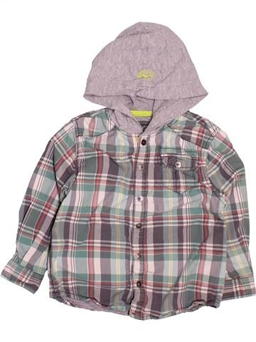 Chemise manches longues garçon OKAIDI gris 3 ans hiver #1499893_1