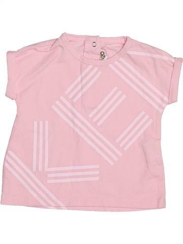 Camiseta de manga corta niña KENZO rosa 6 meses verano #1499925_1