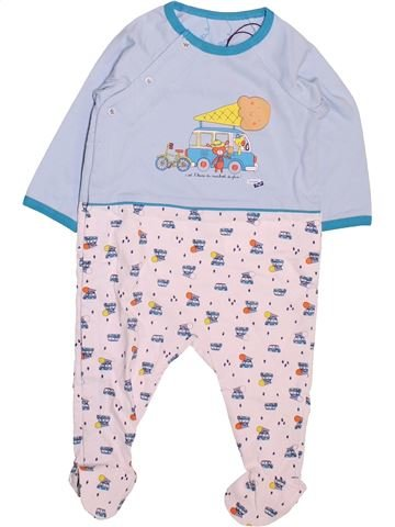 Pyjama 1 pièce garçon SERGENT MAJOR gris 6 mois été #1499940_1