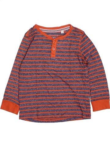 Camiseta de manga larga niño C&A violeta 4 años invierno #1499980_1