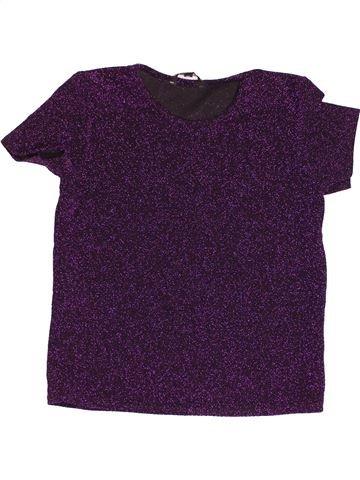 T-shirt manches courtes fille CANDY COUTURE violet 13 ans hiver #1500028_1