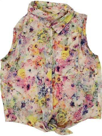 Blusa de manga corta niña H&M rosa 11 años verano #1500051_1