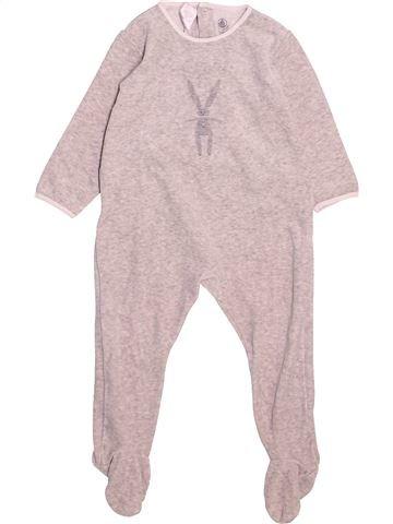 Pyjama 1 pièce garçon PETIT BATEAU rose 2 ans hiver #1500056_1