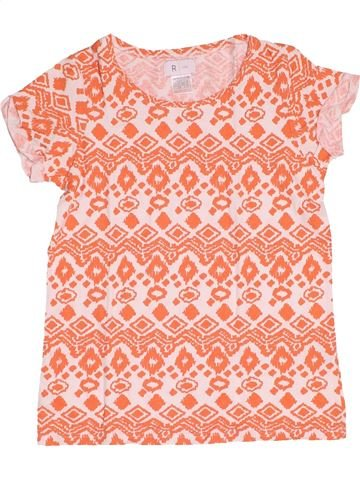 Camiseta de manga corta niña LA REDOUTE CRÉATION rosa 10 años verano #1500110_1