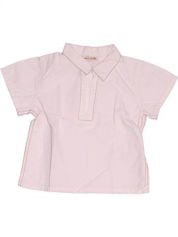 Camisa de manga corta niño GRAIN DE BLÉ rosa 6 meses verano #1500127_1