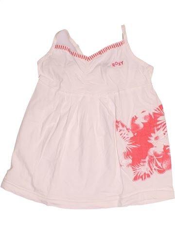 T-shirt sans manches fille ROXY blanc 10 ans été #1500130_1