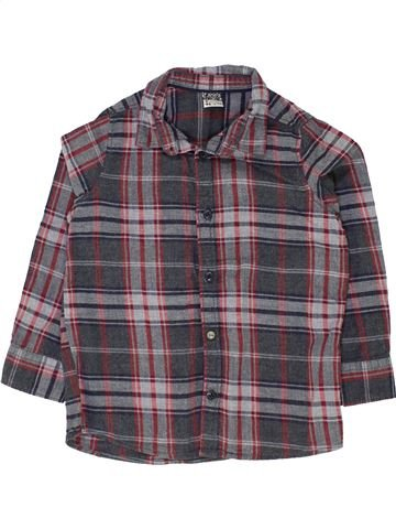 Camisa de manga larga niño TAPE À L'OEIL gris 3 años invierno #1500328_1