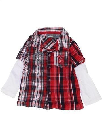 Camisa de manga larga niño ORCHESTRA marrón 12 meses invierno #1500395_1