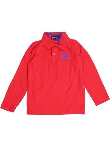 Camiseta de manga larga niño YCC-214 rojo 6 años invierno #1500613_1