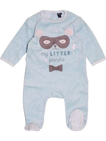 Pyjama 1 pièce garçon KIABI blanc 9 mois hiver #1500903_1