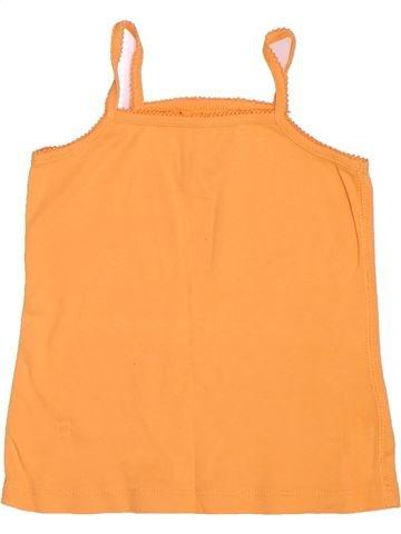 T-shirt sans manches fille KIABI orange 5 ans été #1500949_1