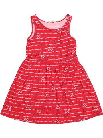 Robe fille H&M rouge 6 ans été #1500965_1