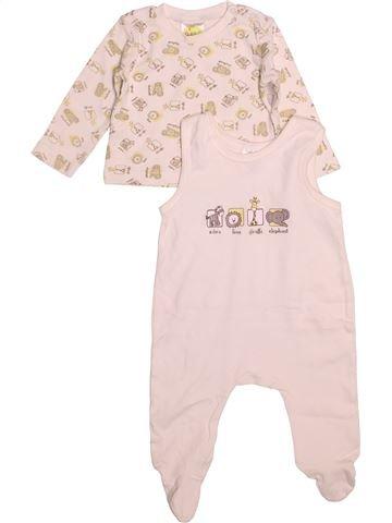 Pyjama 2 pièces garçon DIMO blanc 6 mois été #1500972_1