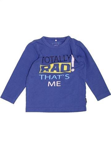 Camiseta de manga larga niño NAME IT azul 12 meses invierno #1501075_1