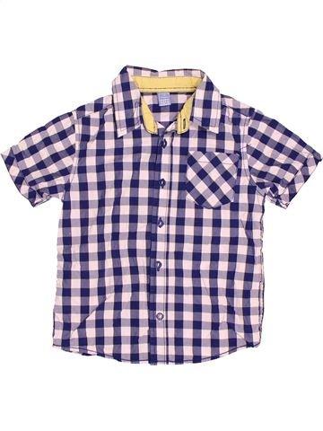 Chemise manches courtes garçon DOPODOPO gris 5 ans été #1501412_1