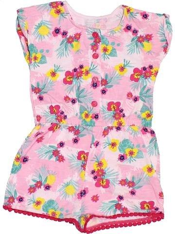 Combinación corta niña MATALAN rosa 12 meses verano #1501414_1
