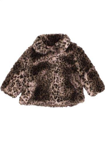 Abrigo niña F&F marrón 9 meses invierno #1501457_1