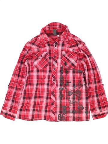 Chemise manches longues garçon URBAN 65 OUTLAWS rose 13 ans hiver #1501521_1