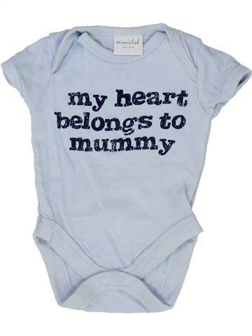 T-shirt manches courtes garçon MINI CLUB bleu 1 mois été #1501539_1