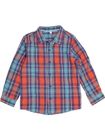 Camisa de manga larga niño MARKS & SPENCER violeta 5 años invierno #1501656_1
