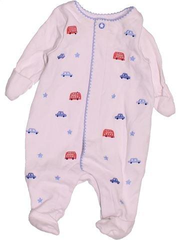Pijama de 1 pieza niño MINI CLUB blanco prematuro invierno #1501741_1