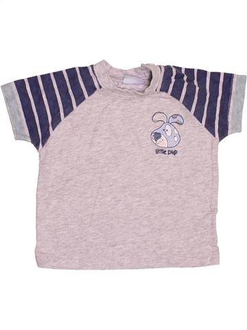 Camiseta de manga corta niño CHEROKEE rosa 3 meses verano #1501766_1
