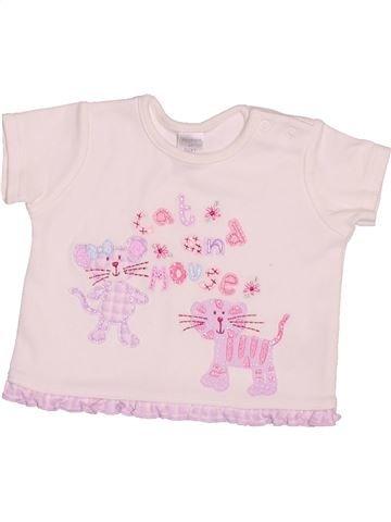 T-shirt manches courtes fille NEXT rose naissance été #1501808_1