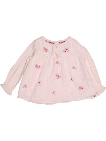 Blusa de manga larga niña DEBENHAMS rosa 4 años invierno #1501912_1
