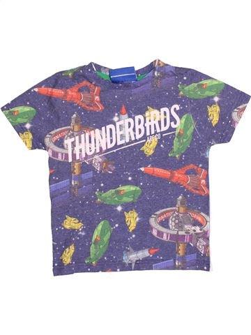 Camiseta de manga corta niño THUNDERBIRDS violeta 5 años verano #1502029_1