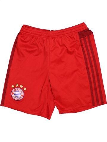 Pantalon corto deportivos niño ADIDAS rojo 10 años verano #1502030_1