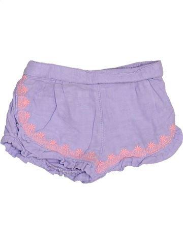 Short-Bermudas niña TAPE À L'OEIL violeta 9 meses verano #1502306_1