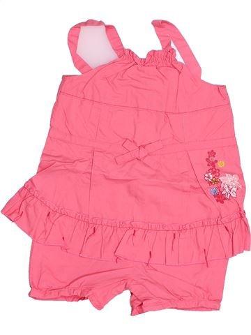 Combinación corta niña KIABI rosa 6 meses verano #1502423_1
