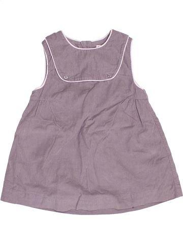 Vestido niña CYRILLUS gris 12 meses invierno #1502536_1