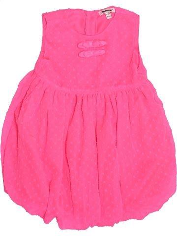 Vestido niña 3 POMMES rosa 18 meses verano #1502545_1