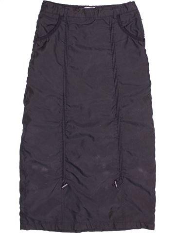 Falda niña OKAIDI gris 8 años invierno #1502590_1