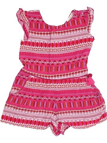 Combinación corta niña VERTBAUDET rosa 8 años verano #1502691_1