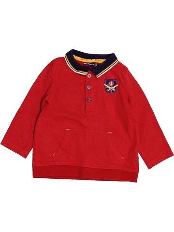 Polo de manga larga niño SERGENT MAJOR rojo 18 meses invierno #1502702_1
