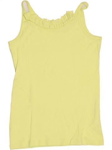 T-shirt sans manches fille OKAIDI jaune 14 ans été #1502822_1