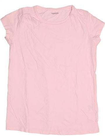 Camiseta de manga corta niña VERTBAUDET rosa 14 años verano #1502849_1