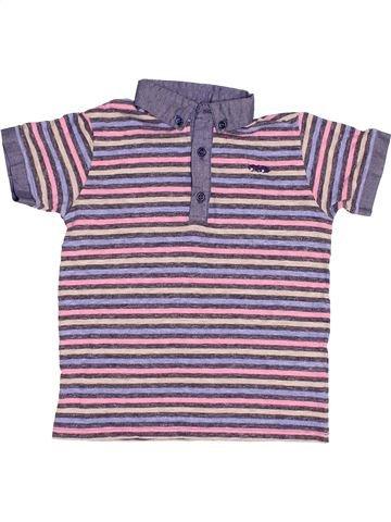 Polo de manga corta niño NEXT violeta 5 años verano #1502860_1