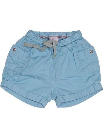 Short-Bermudas niño PETIT BATEAU azul 3 meses verano #1502895_1