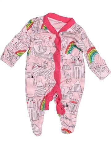 Pyjama 1 pièce fille NEXT rose naissance été #1503065_1