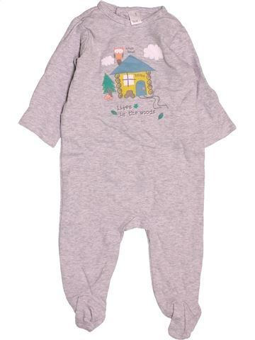 Pijama de 1 pieza niño TEX rosa 6 meses verano #1503238_1