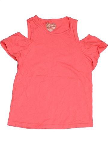 Camiseta de manga corta niña F&F rosa 8 años verano #1503342_1