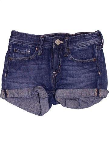 Short-Bermudas niña H&M azul 5 años verano #1503385_1